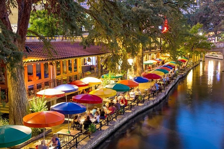 Texas San Antonio Riverwalk